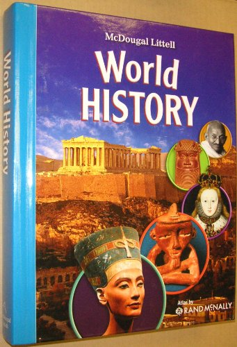 World History, Grades 6-8 Full Survey: Mcdougal Littell Middle School World History  2007 9780618950355 Front Cover