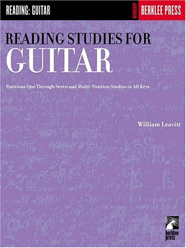 Reading Studies for Guitar  N/A edition cover