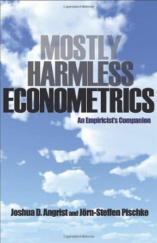 Mostly Harmless Econometrics An Empiricist's Companion  2008 edition cover