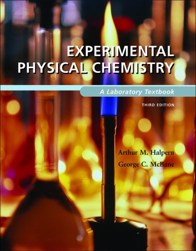 Experimental Physical Chemistry A Laboratory Textbook 3rd 2006 (Revised) edition cover