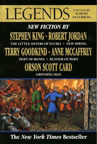 Legends Short Stories by the Masters of Modern Fantasy  1998 (Revised) edition cover