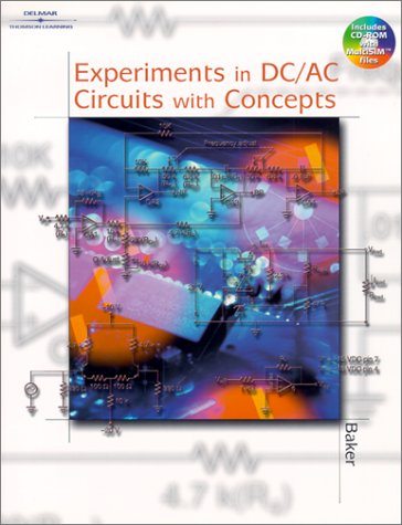 Experiments in DC/AC Circuits with Concepts   2002 edition cover