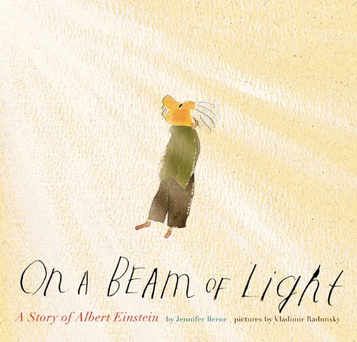 On a Beam of Light A Story of Albert Einstein  2011 edition cover