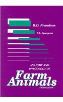 Anatomy and Physiology of Farm Animals  5th 1992 edition cover