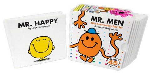 Mr. Men 40th Anniversary Box Set  N/A 9780843198355 Front Cover