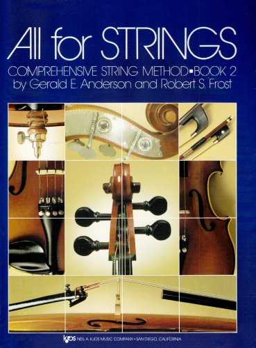All for Strings Conductor Score Bk. 2 : Violin N/A edition cover