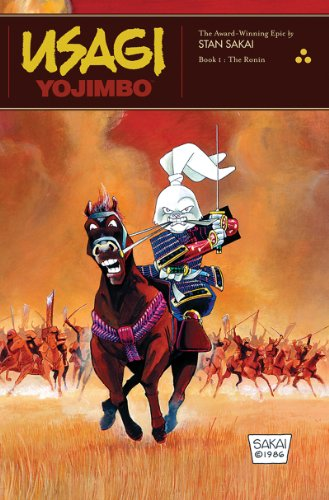 Usagi Yojimbo   1987 edition cover