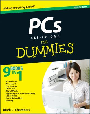 PCs All-in-One for Dummies�  6th 2012 edition cover