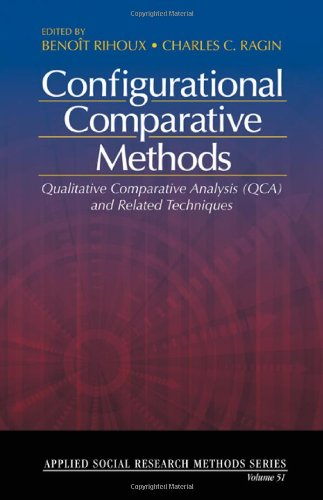 Configurational Comparative Methods Qualitative Comparative Analysis (QCA) and Related Techniques  2009 edition cover