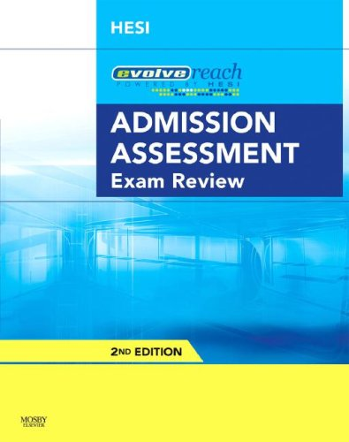 Admission Assessment Exam Review  2nd 2008 9781416056355 Front Cover
