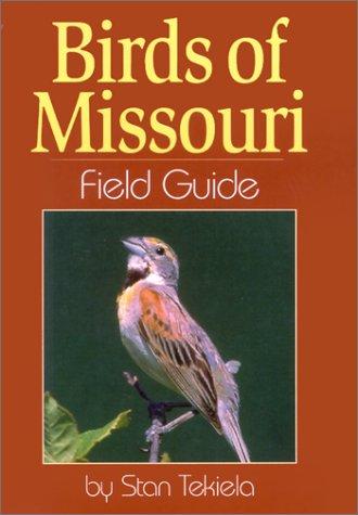 Birds of Missouri Field Guide   2001 edition cover