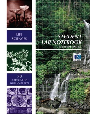 Life Sciences Student Lab Notebook: 70 Carbonless Duplicate Sets 1st 2003 edition cover