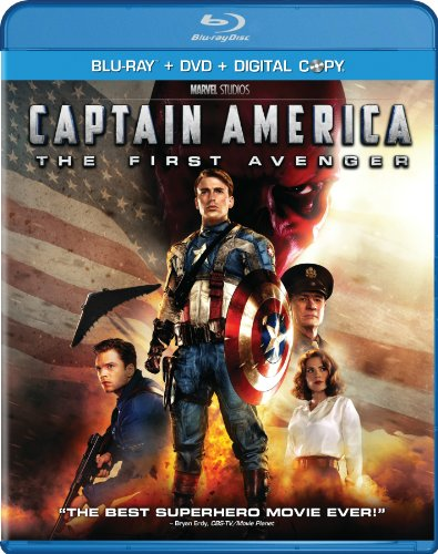 Captain America: The First Avenger (Two-Disc Blu-ray/DVD Combo + Digital Copy) System.Collections.Generic.List`1[System.String] artwork