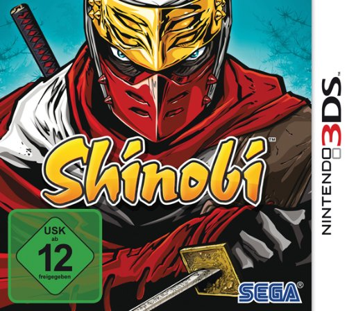 Shinobi Nintendo 3DS artwork