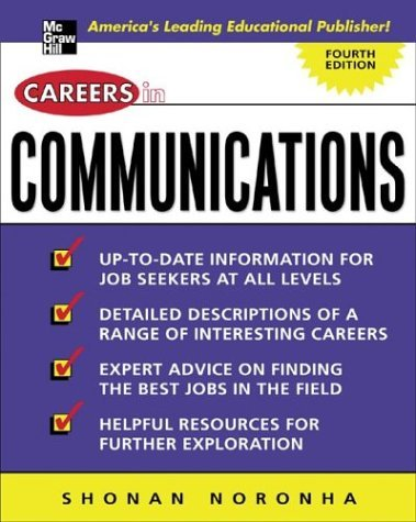 Careers in Communications  4th 2005 (Revised) 9780071437356 Front Cover