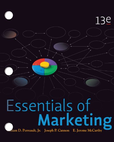 Loose-Leaf Essentials of Marketing  13th 2012 edition cover