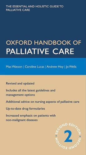 Oxford Handbook of Palliative Care  2nd 2009 9780199234356 Front Cover