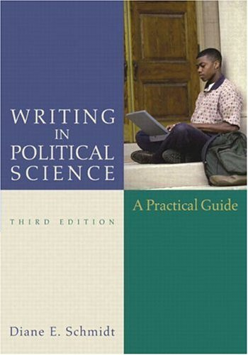 Writing in Political Science  3rd 2005 (Revised) edition cover