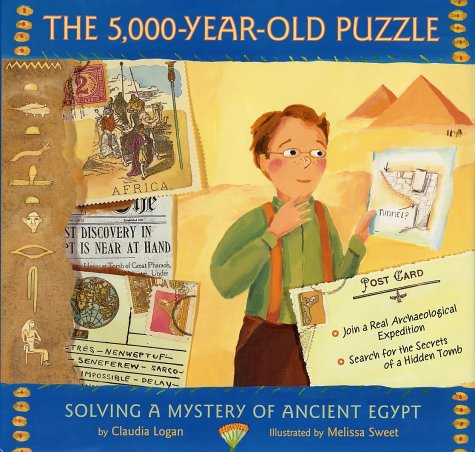 5,000-Year-Old Puzzle Solving a Mystery of Ancient Egypt  2001 edition cover
