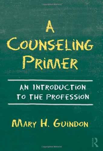 Counseling Primer An Introduction to the Profession  2011 edition cover