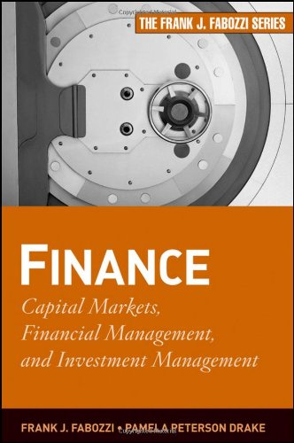 Finance Capital Markets, Financial Management, and Investment Management  2009 edition cover