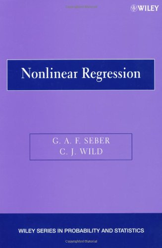 Nonlinear Regression   2003 9780471471356 Front Cover