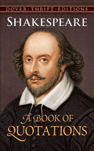 Shakespeare A Book of Quotations  1999 edition cover