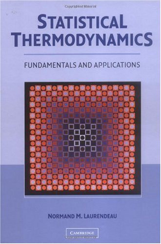 Statistical Thermodynamics Fundamentals and Applications  2005 9780521846356 Front Cover