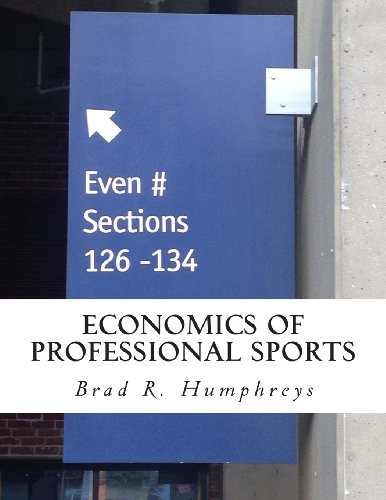 Economics of Professional Sports  N/A edition cover