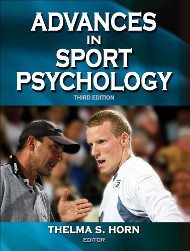 Advances in Sport Psychology  3rd 2008 edition cover