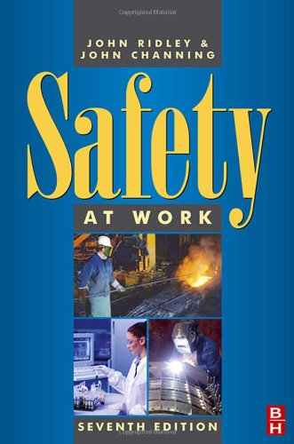 Safety at Work  7th 2007 (Revised) 9780750680356 Front Cover