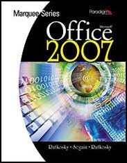 MICROSOFT OFFICE 2007-W/WIND.V 1st 9780763831356 Front Cover