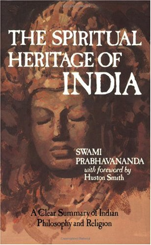 Spiritual Heritage of India  Reprint edition cover