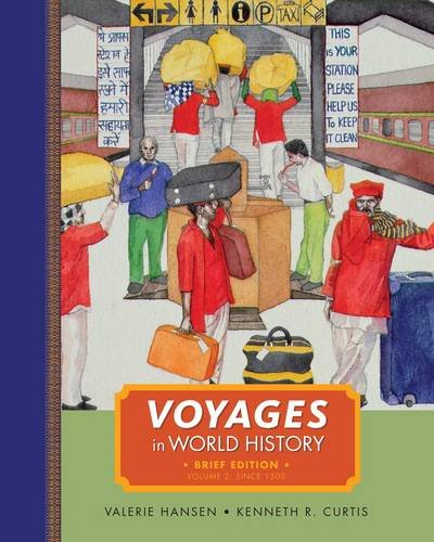 Voyages in World History, Volume II, Brief   2013 edition cover