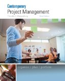 Comtemporary Project Management + Microsoft Project Printed Access Card:   2014 edition cover