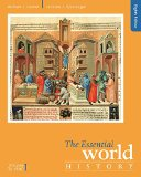 The Essential World History: To 1800  2016 9781305645356 Front Cover