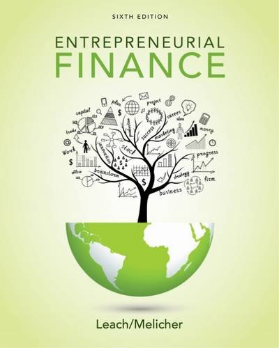 Entrepreneurial Finance:   2017 9781305968356 Front Cover