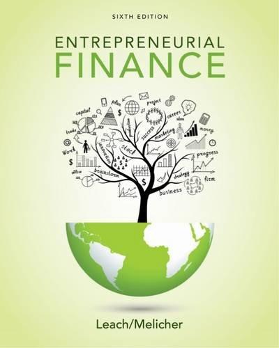Entrepreneurial Finance:   2017 9781305968356 Front Cover