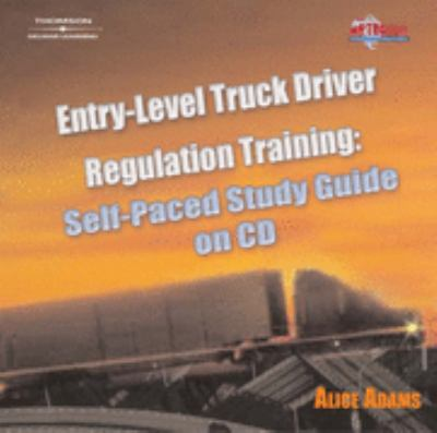 Entry-Level Truck Driver Regulation Training   2005 (Guide (Pupil's)) 9781401899356 Front Cover