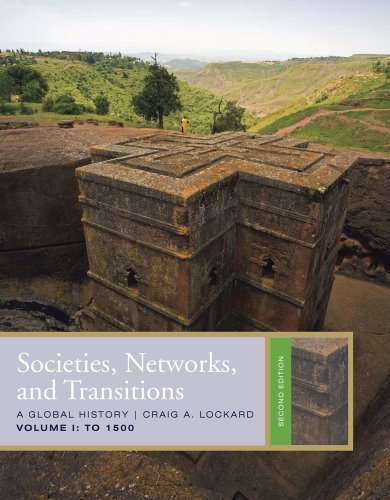 Societies, Networks, and Transitions - To 1500  2nd 2011 edition cover