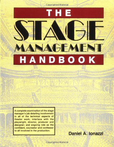 Stage Management Handbook   1992 edition cover