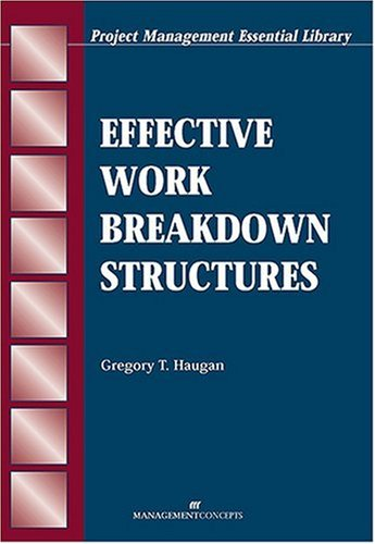 Effective Work Breakdown Structures   2002 edition cover