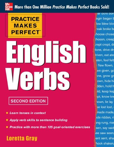 Practice Makes Perfect English Verbs:   2013 edition cover