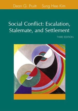 Social Conflict  3rd 2004 (Revised) edition cover