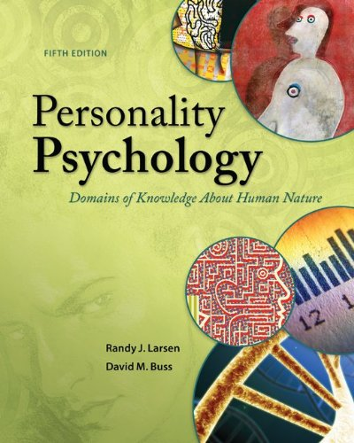 Personality Psychology Domains of Knowledge about Human Nature 5th 2014 9780078035357 Front Cover