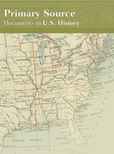 Primary Source Documents in U. S. History (CD- ROM)  2008 9780131916357 Front Cover