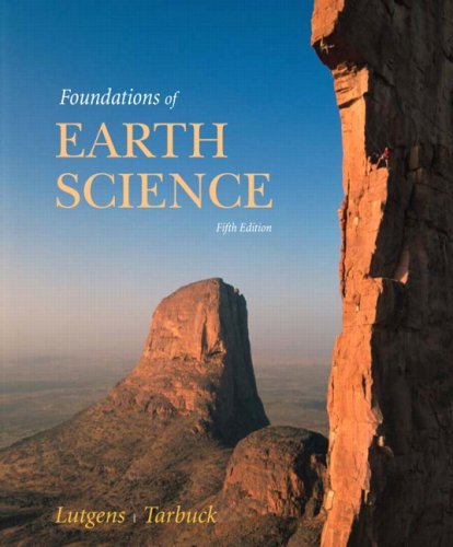 Foundations of Earth Science  5th 2008 edition cover