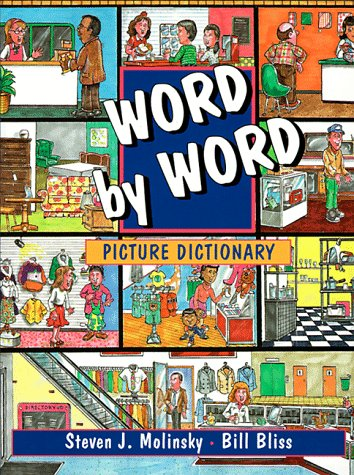 Word by Word Picture Dictionary A Talking Picture Dictionary English  1994 9780132782357 Front Cover