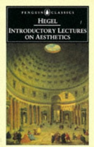Introductory Lectures on Aesthetics   1993 edition cover