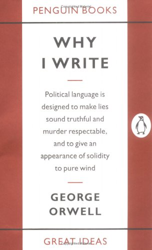 Why I Write   2005 edition cover